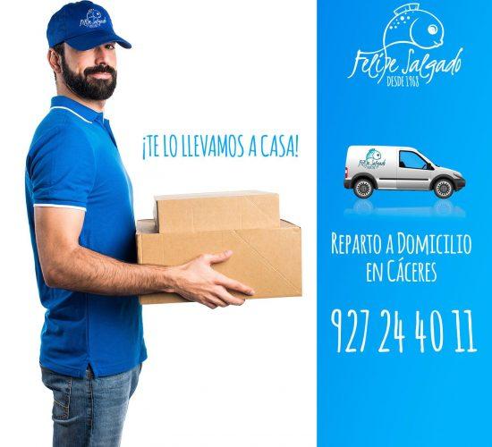 La mejor pescadería en Cáceres - Felipe Salgado